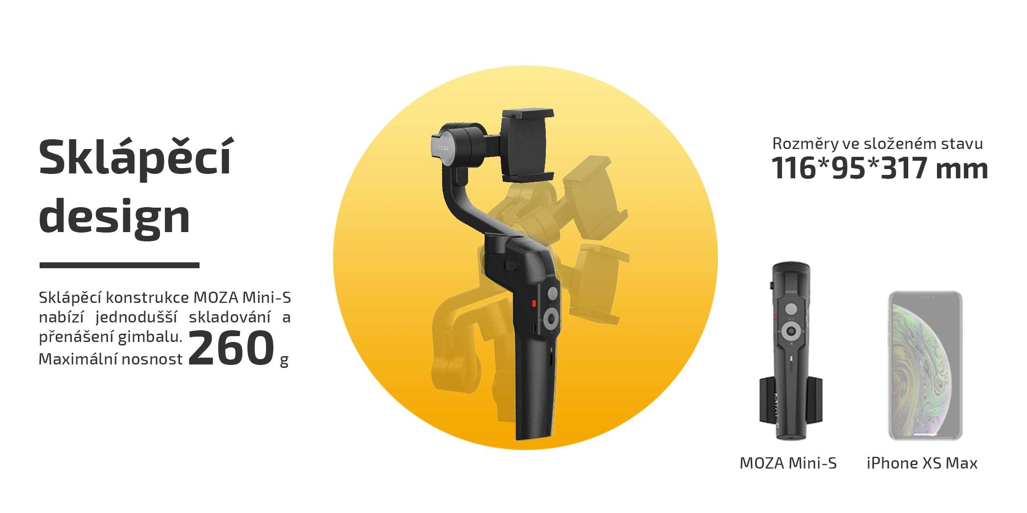 film-technika-gudsen-moza-mini-s-gimbal-pro-smartphony-skápěcí-design