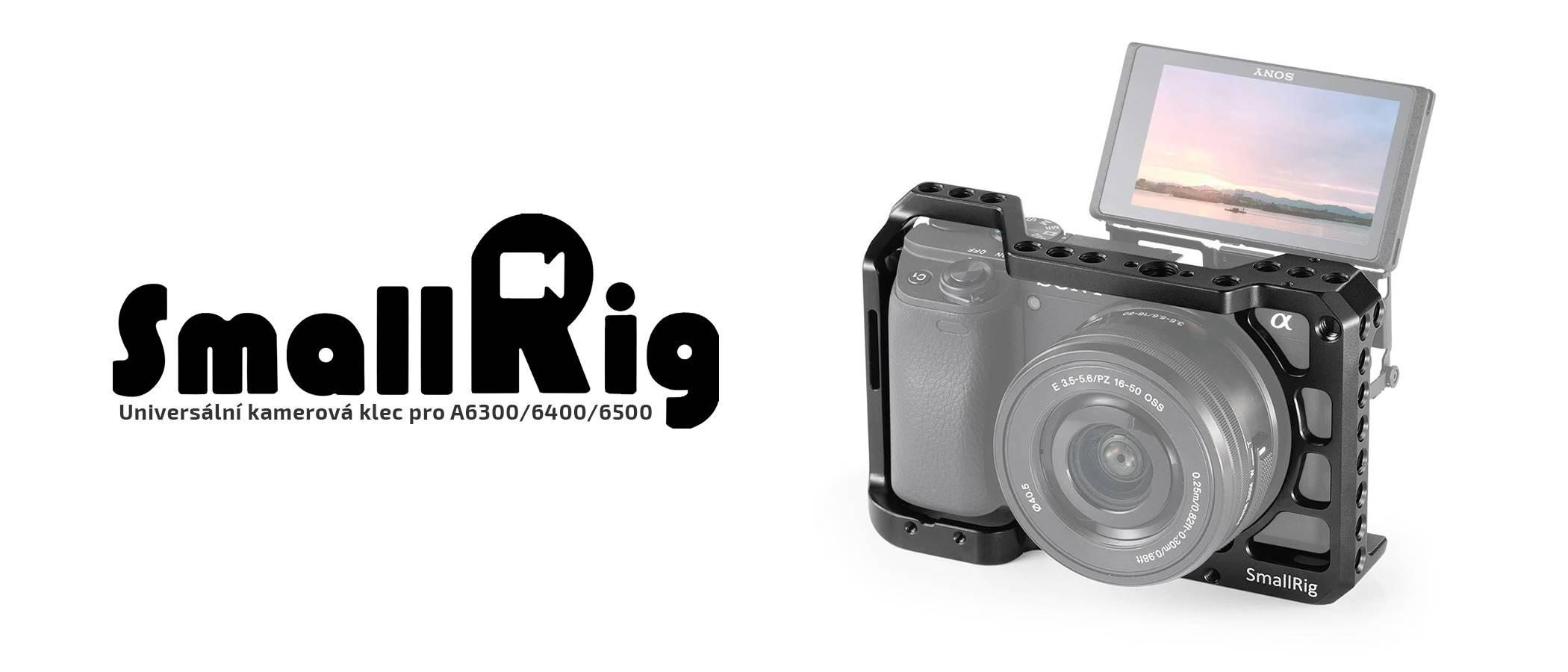 film-technika-smallrig-kamerová-klec-pro-sony-a6300-a6400-a6500